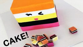 The Best Liquorice All Sorts Cake