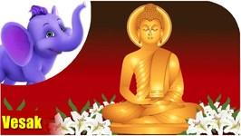 Vesak Festival Song - Buddha Day - Appu wishes you Happy Vesak (4K)