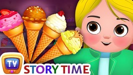 Greedy Little Cussly - Ice Cream - Good Habits Bedtime Stories and Moral Stories for Kids