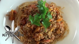 Spaghetti Bolognese (Gluten Free)