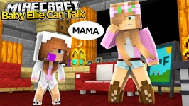 Minecraft - Little Kelly Adventures : BABY ELLIE CAN TALK!