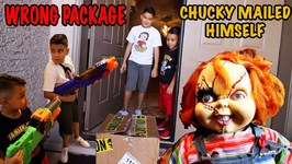WRONG PACKAGE - CHUCKY THE SCARY DOLL - D and D SQUAD BATTLES