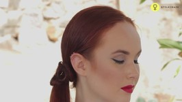5 Minutes Hairstyles - Side Ponytail Twist