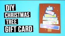 DIY Christmas Tree Gift Card