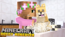 Minecraft - Little Kelly Adventures : DOGGY MAKEOVER!