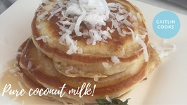 Coconut Strawberry Pancakes / AKA Best Pancakes Ever