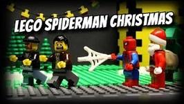 Lego Spider-Man Saves Christmas