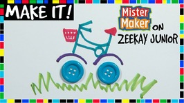 Button Bicycle Doodles - Make It