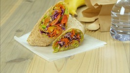 White Bean And Avocado Wrap