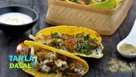 Aloo Chaat Tacos