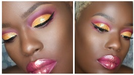 Bright Cut Crease - Dark Skin Brigh Makeup