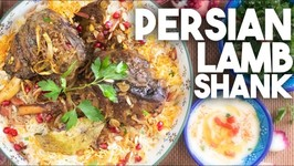 I Made This Traditional Persian Lamb Shanks - Fit For A Shah
