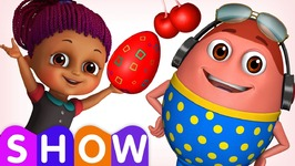 Learn RED Colour with Johny Johny Yes Papa - Surprise Eggs Colours Ball Pit Show - ChuChuTV 3D Fun