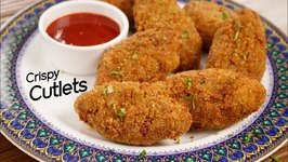 Vegetable Cutlet - Crispy Street Style Evening Snack