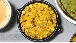 Protein Pack Cereal Chevdo Or Chivda Chewda Making In BulkVideo Recipe