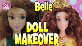 Barbie Doll Princess Belle the Beauty and the Beast Doll Makeover