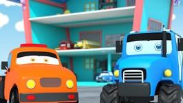 Parking Garage - Vehicles Videos For Children - Kids Cartoons - Kids Channel