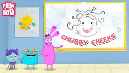 Chubby Cheeks  Nursery Rhyme for Kids - Popular English Rhymes