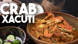 Crab Xacuti - Spiced Coconut Curry - Kravings