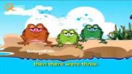 Five Little Froggies Nursery Rhyme - Popular Nursery Rhymes For Children