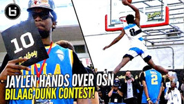 Jaylen Hands Dunks Over Osn And Wins 2017 Ballislife All American Dunk Contest Pres By Eastbay