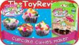Yummy Nummies Bakery Treats - Cupcake Cuties Maker Unboxing Review by TheToyReviewer