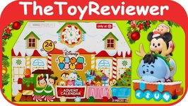 Disney Tsum Tsum Advent Calendar Christmas 2017 Target Exclusive Unboxing Toy Review
