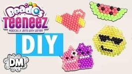 DIY Emoji Keychains with Beados Teeneez - Back to School DIY