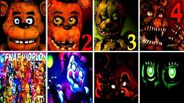 50  JUMPSCARES Five Nights at Freddy's 6 FNAF 1 2 3 4 SL World Simulator