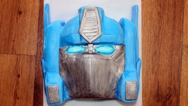 Optimus Prime G1 Cake (How To)