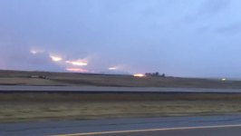 Wildfires Burn in Southeast Alberta