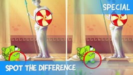 Spot the Difference Ep 35 - Om Nom Stories- Ancient Greece