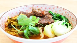 Red Braised Beef Noodles Soup