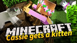Minecraft - Little Kelly Adventures : CASSIE GETS A KITTEN!