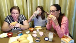 Make Your Own Sandwich / Gay Family Mukbang - Eating Show
