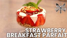Strawberry Breakfast Parfait -  Breakfast Recipe