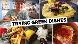 Greek Food Review  Trying Traditional Greek Dishes In Santorini, Greece