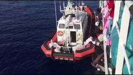 Woman With Appendicitis Taken From Rescue Vessel in Mediterranean