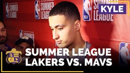 Kyle Kuzma On The Big Win That Sends The Lakers To The Summer League Finals
