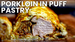 Porkloin In Puff Pastry From My Schickling Grill - English Grill- And BBQ-Recipe