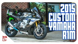 2017 Custom Yamaha R1M - First Ride