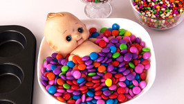 Learn Colors With Candies-Baby Bath Time-Fun Learning For Kids