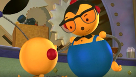 S01 E05 - Mutiny on the Bouncy/Roll the Camera/Pappy's Boat - Rolie Polie Olie