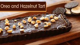 Oreo and Hazelnut Tart  No Bake Dessert Recipe  Beat Batter Bake With Priyanka