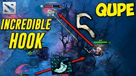 Qupe Pudge Incredible HOOKs Dota 2