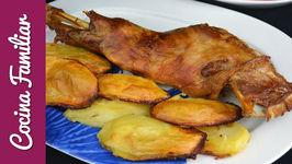 Paletilla de cordero asado para Navidad - Receta tradicional en España estamos locos por el asado