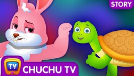 Tortoise and Hare - Ace Race - Bedtime Stories for Kids in English- ChuChu TV Storytime for Children