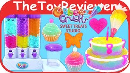 Orbeez Crush Sweet Treats Studio Playset Unboxing Toy Review