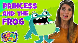 The Princess and the Frog - Chapter 2 - BRAND NEW Story Time with Ms. Booksy - Cartoons for Kids