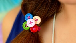 How to Make A DIY Hair Tie For Girls